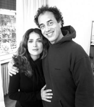 Matteo Garrone con Salma Hayek